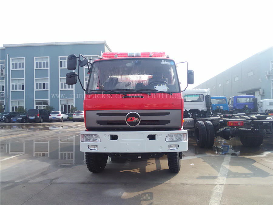 Chufeng(Dongfeng) Water Tanker Fire Truck with Sprinkler, Water Pump,water fire fighting truck