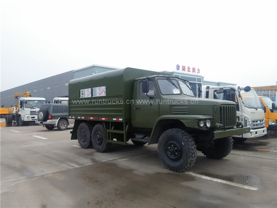 China Dongfeng 190hp off road cargo van  Military Cargo usage