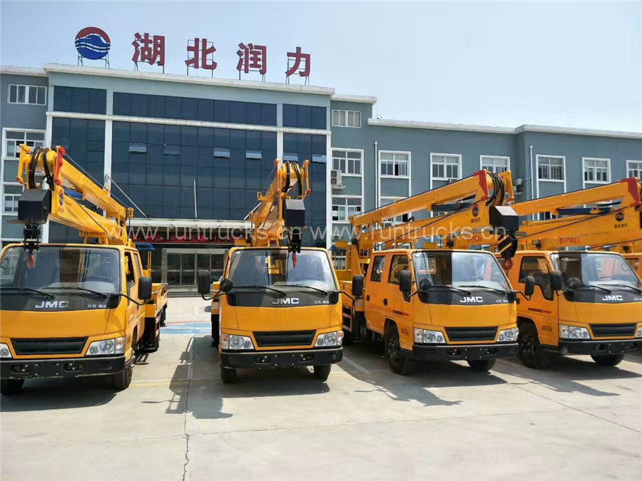 10 units JMC 16 meters high-altitude working truck with high Aerial work platform made in China