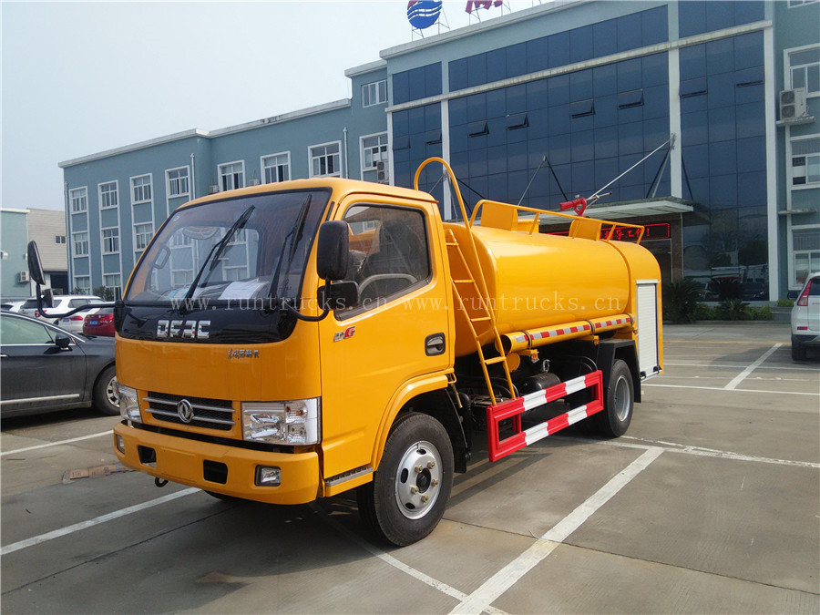 Dongfeng 3cbm Euro3  water fire fighting truck, water fire engine