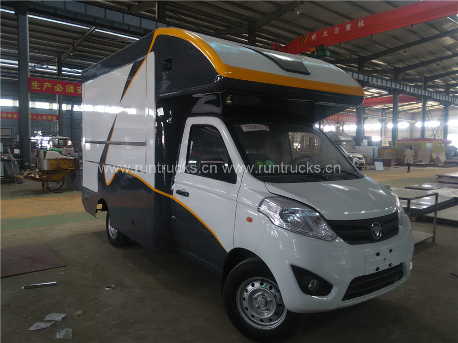 China Foton Mobile Catering Truck food truck food vehicle food cart new design