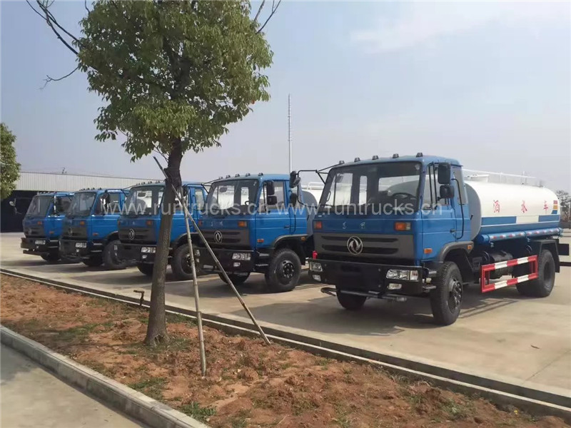 China factory supply 4x2 Dongfeng 10T water truck