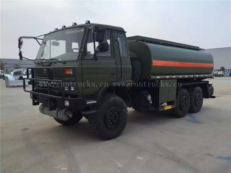 All wheel drive Dongfeng 6x6 oil tank truck made in China