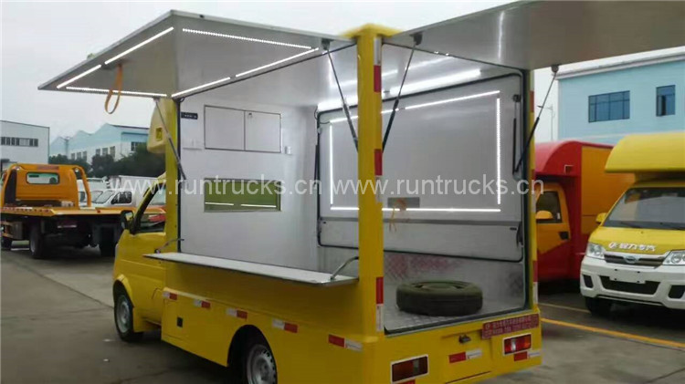 China Foton Mobile Catering Truck food truck food vehicle food cart